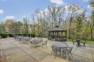 Vistas Outdoor seating and gazebo